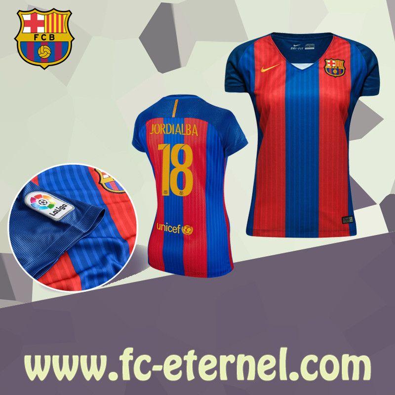 Maillot Domicile FC Barcelona Jordi Alba