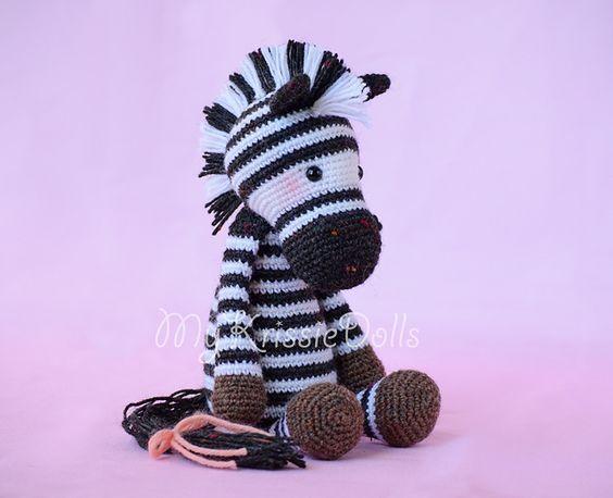 Ravelry: Betje Zebra pattern by Kristel Droog ---FREE PATTERN | Free ...