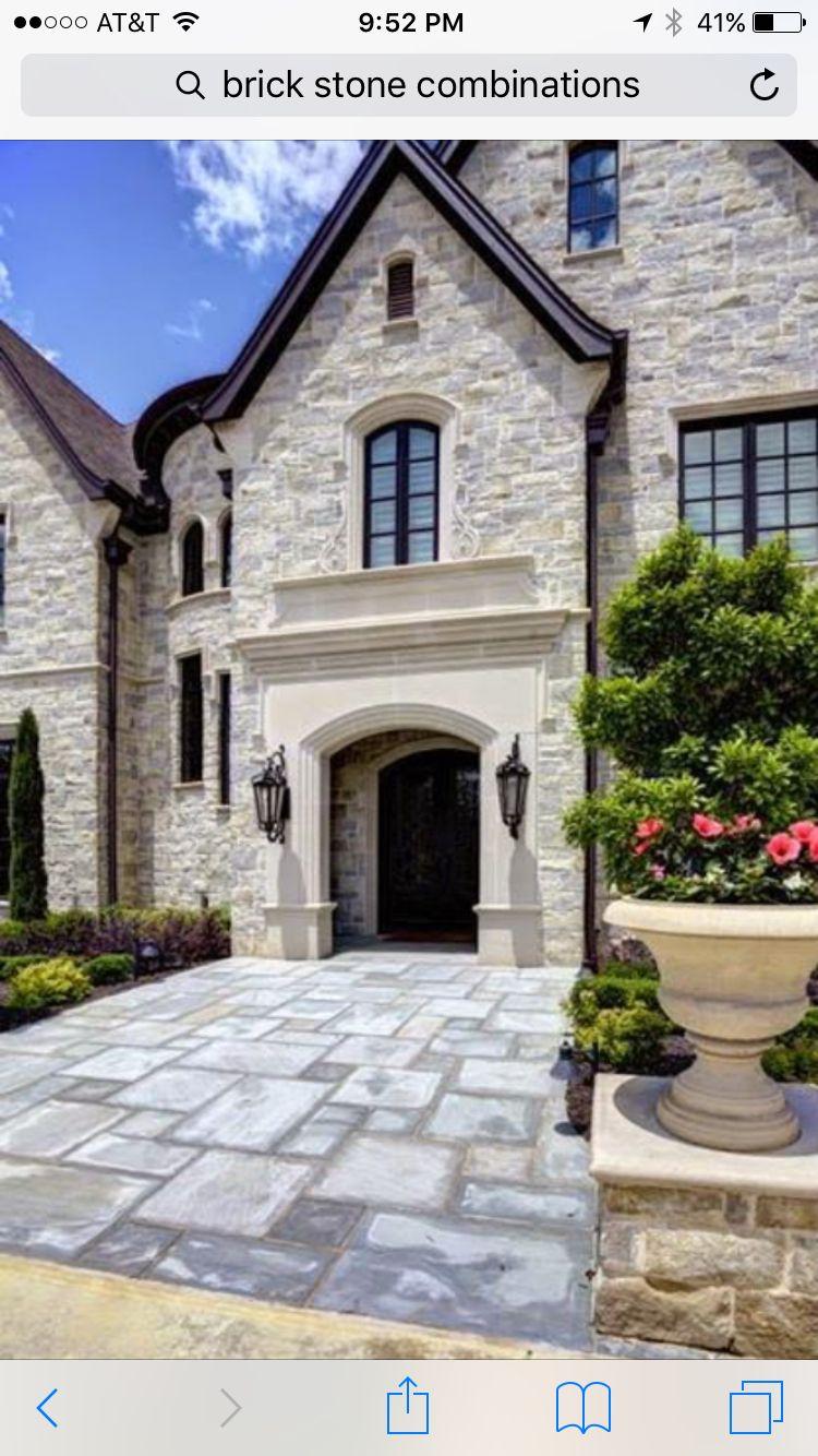 Cement/Stone | House exterior, Exterior design, House colors
