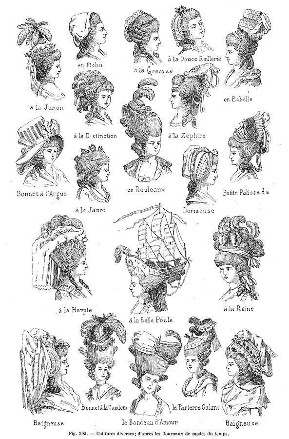Hairstyles 18th Century Granger Jpg 593 900 Rokoko Barock Mode Frauen Frisuren