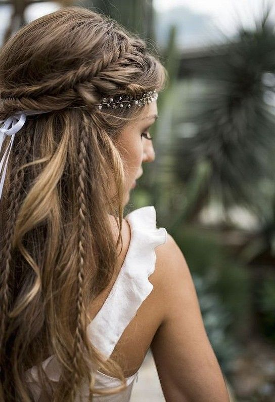 36 Elegant And Fresh Wedding Hairstyle Trendy In 2