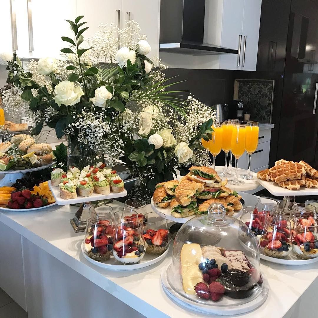 More From Our Bridal Brunch For FARRAH #events #catering