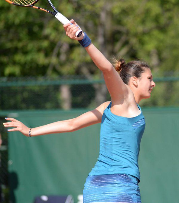 Margarita Gasparyan Rus 2015 French Open Itf Grand Slam With Images Tennis Photos Tennis Players Play Tennis
