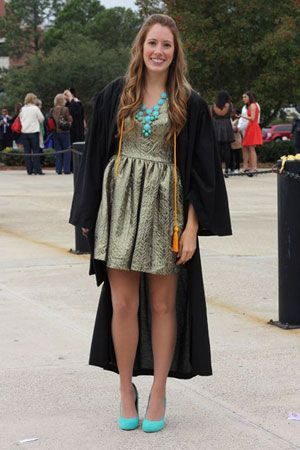10 Cute ideas of what to wear to graduation! Either high school or ...
