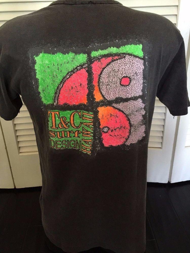 aa5c6b13 T&C Surf Shirt | Vintage Surf/Skate T-Shirts | Surf shirt, Skate t ...