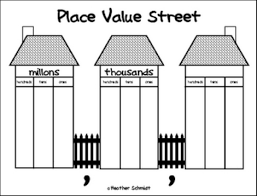 image result for place value house template place values. Black Bedroom Furniture Sets. Home Design Ideas