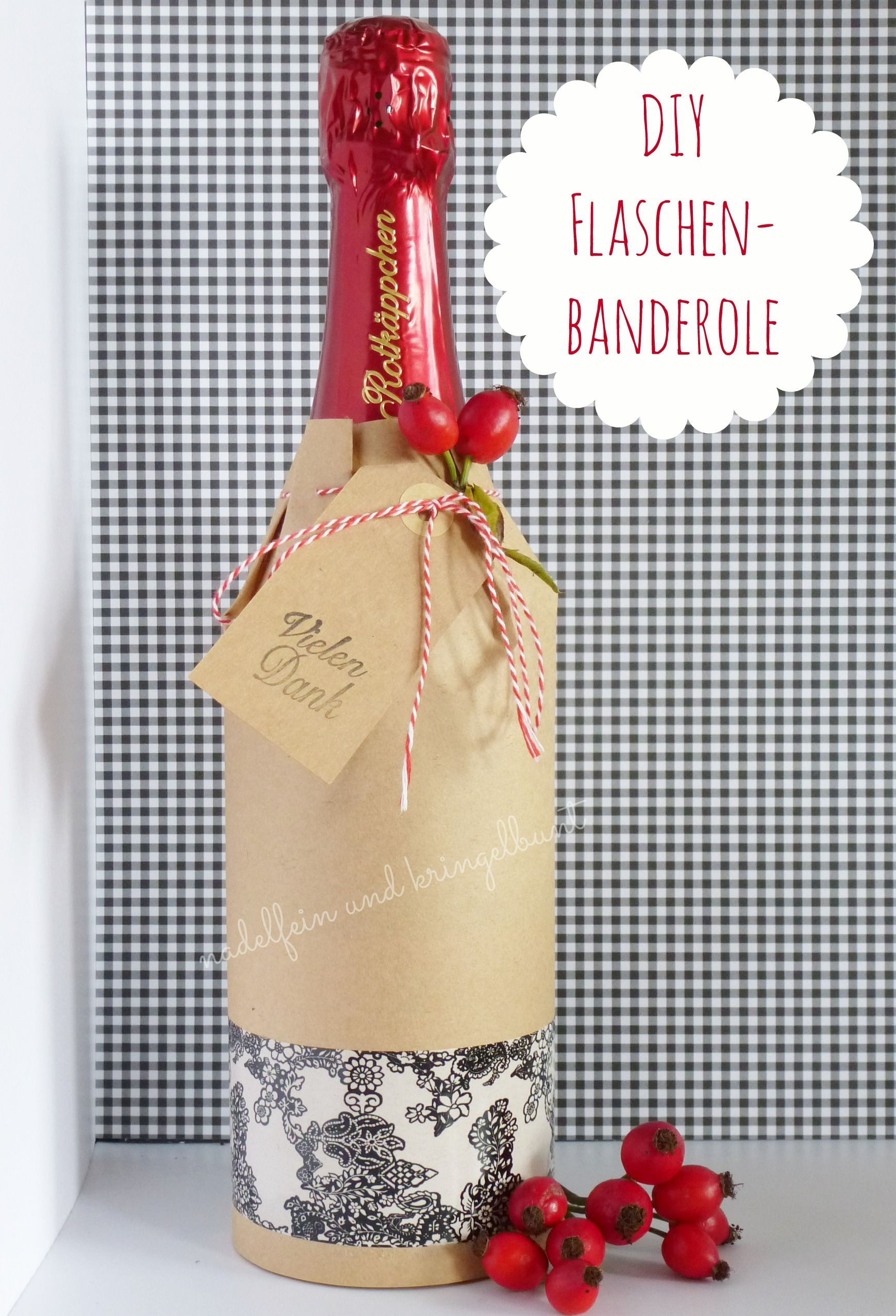 Geschenke schon verpacken flaschen