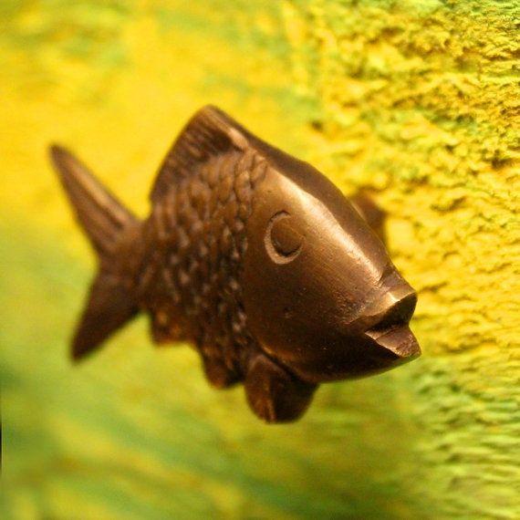 Bronze Fish Door Handle | Knobs & Levers | Pinterest | Door handles ...