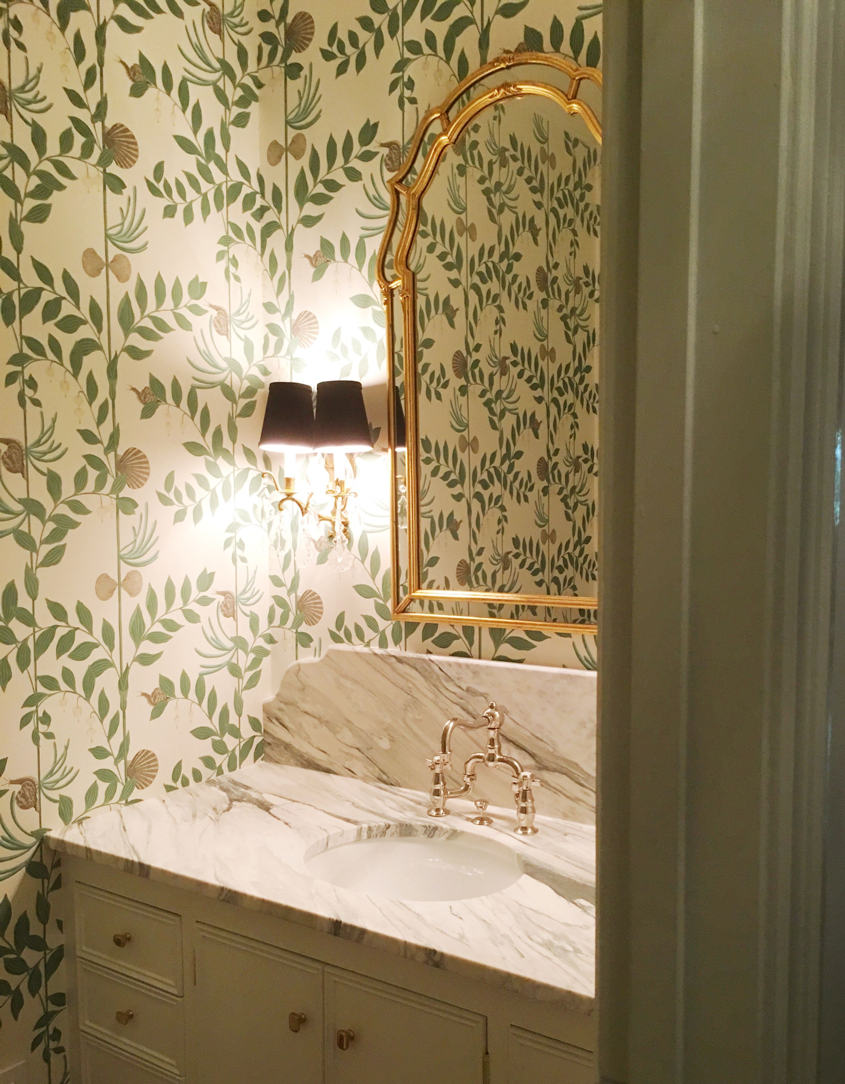 Cole And Sons Secret Garden Powder Room Themisfithouse Room