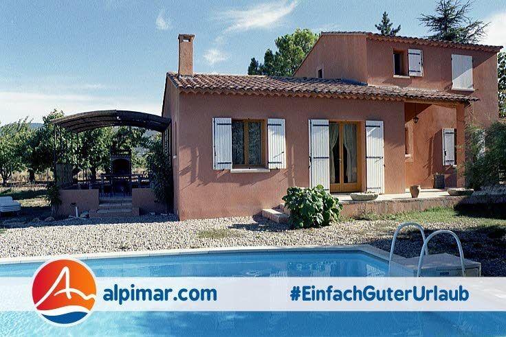 Landhaus mit eigenem Pool für max. 9 Personen Webcode: FP-VIBA Frankreich Urlaub Provence Holiday Sommerurlaub Urlaub France Villa Privatpool Landgut Ferienhaus #EinfachGuterUrlaub