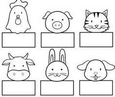 Animal Paper Finger Puppet Patterns