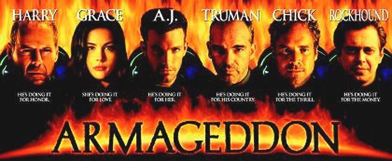 Armageddon Action Adventure Sci Fi Available On Netflix Dvd Plan