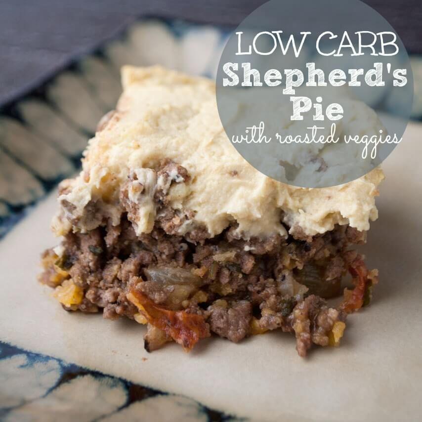 Paleo Shepherd's Pie with Roasted Veggies (grain & dairy ...