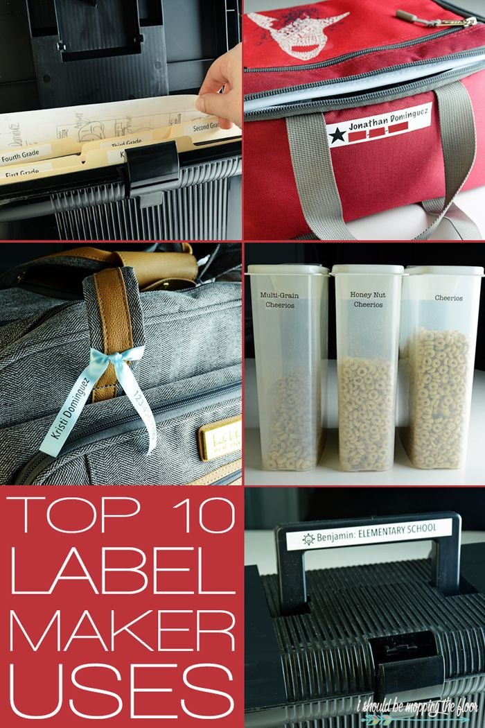 Top Ten Best Uses For A Label Maker Brother Label Maker Label Maker Organization Label Maker