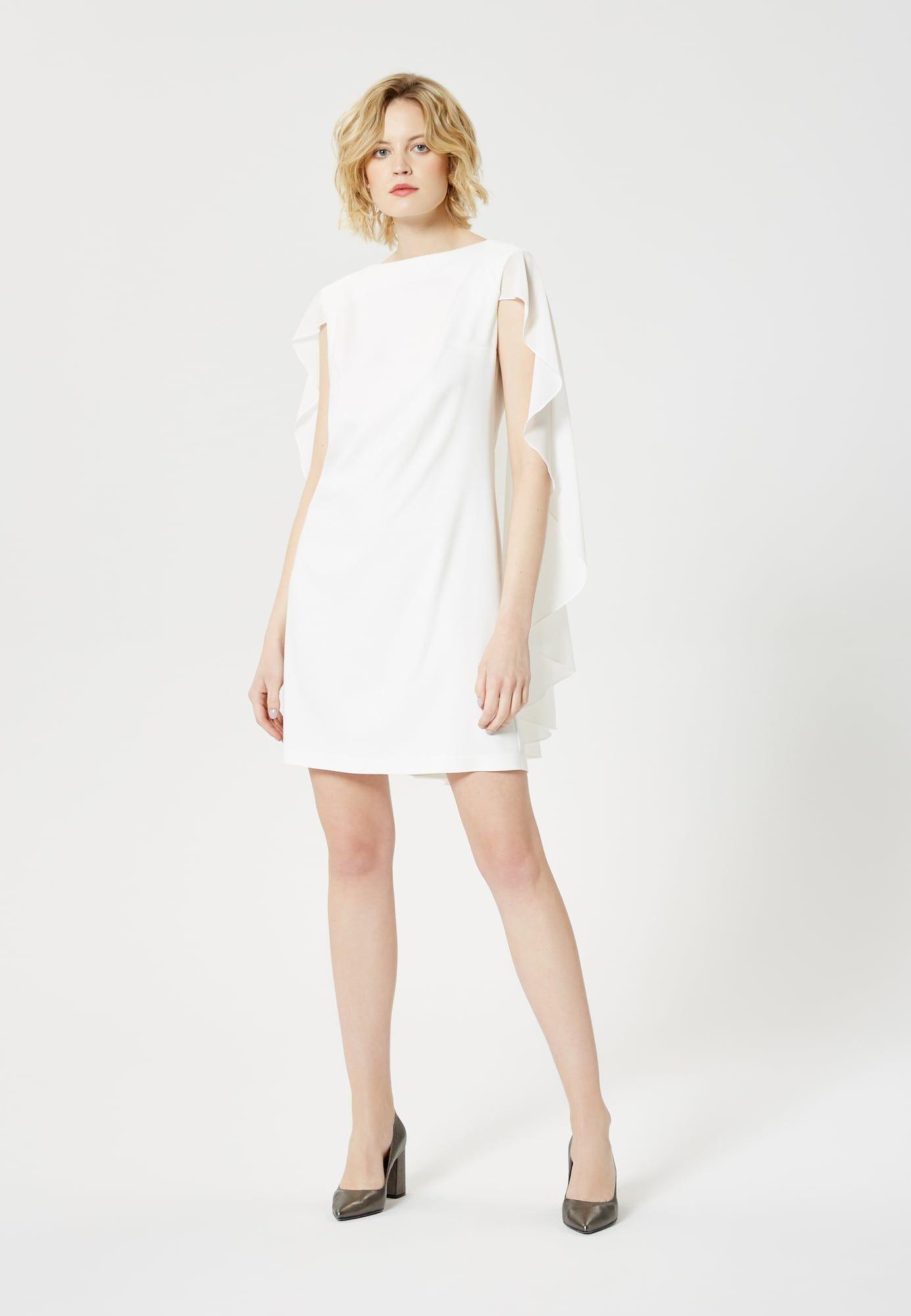 usha kleid in weiß #weißekleiderkurz | dresses for work