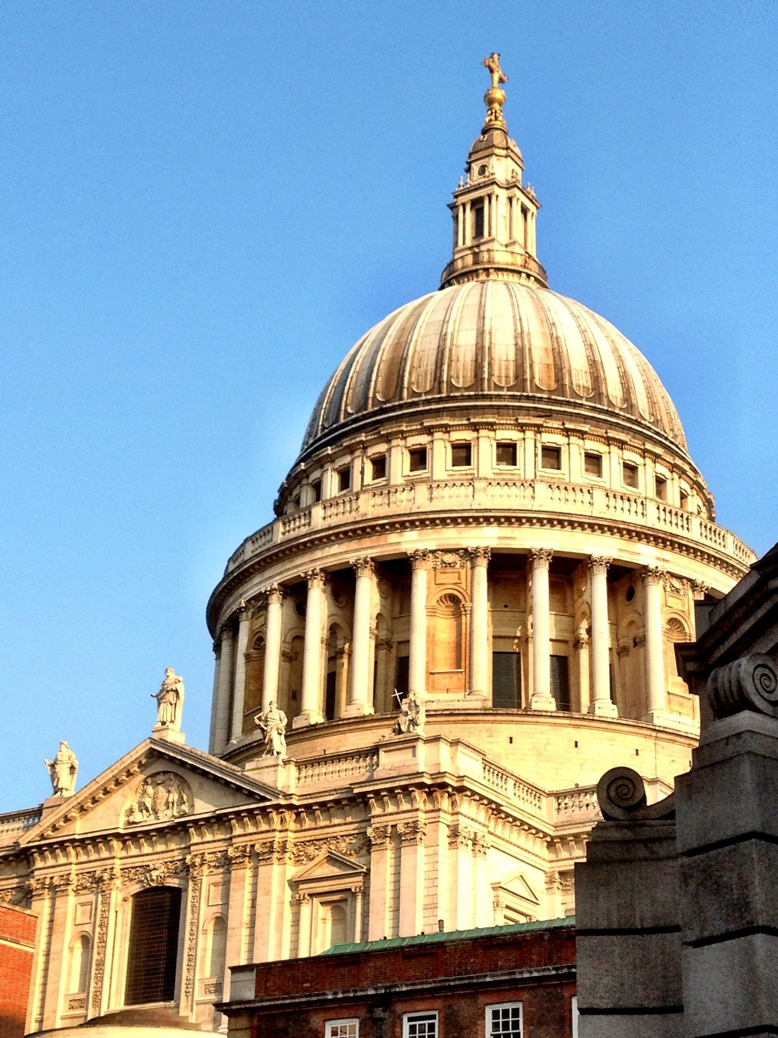 St. Paul's Cathedral, London. Picture taken on IPhone 4s. Adjusted in Camera+