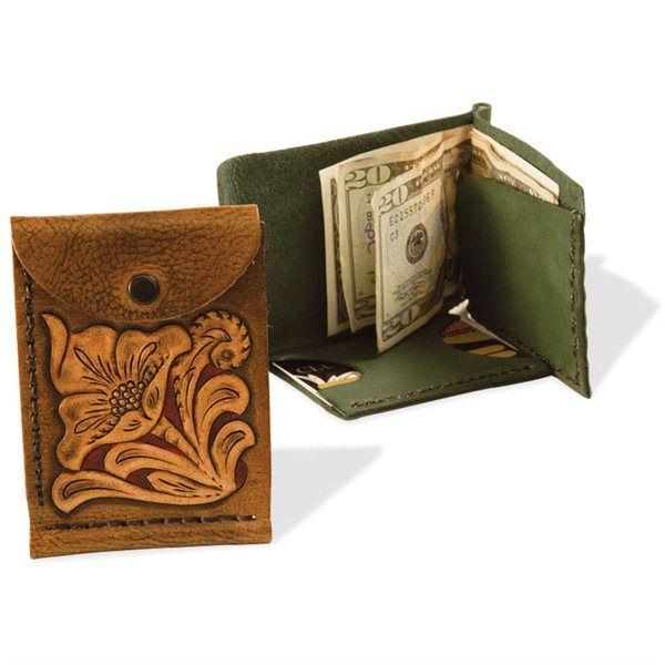Tandy Leather Factory - Trey Slimfold Wallet Kit