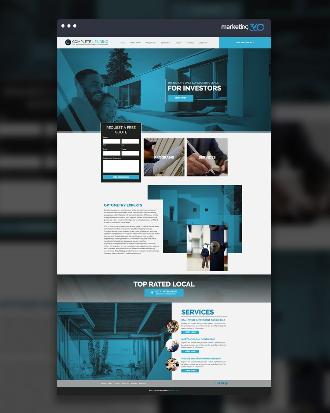 Design Of The Day Consultant Website Design Concept By Our Talented Designer Bayley Warren Website Design Concept Design Design