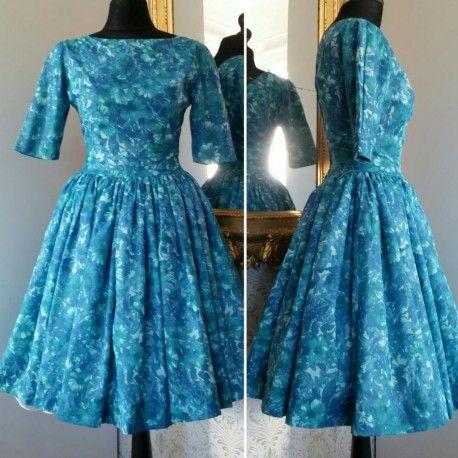 50 tals klänning vintage