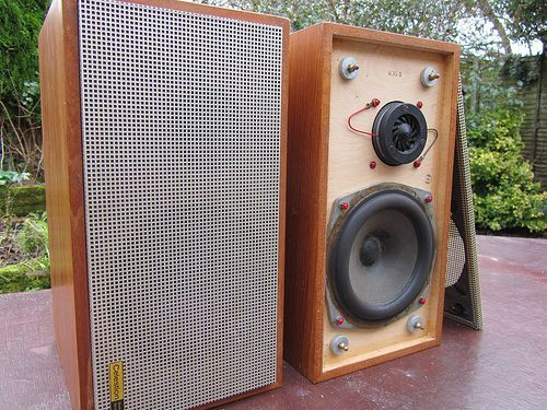 Image Result For British Vintage Celestion Stereo Speakers These Are Mine From The 60 S When I Moved Here The Metal Cover Speaker Vintage Electronics Hifi