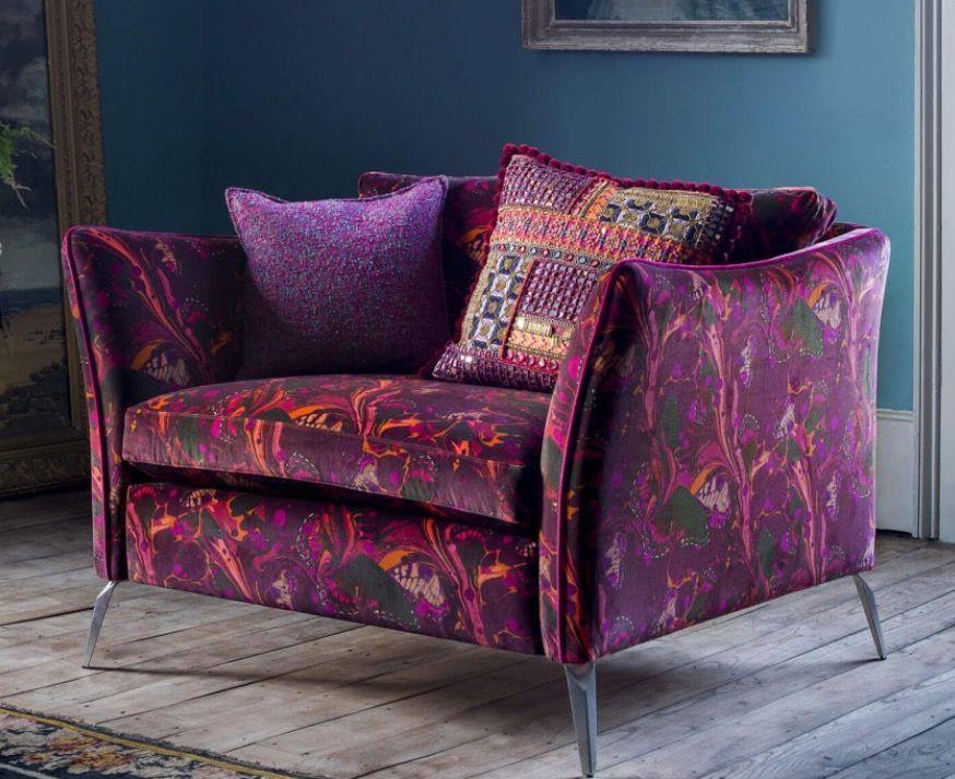 Mirage Reading Chair By Duresta For Matthew Williamson