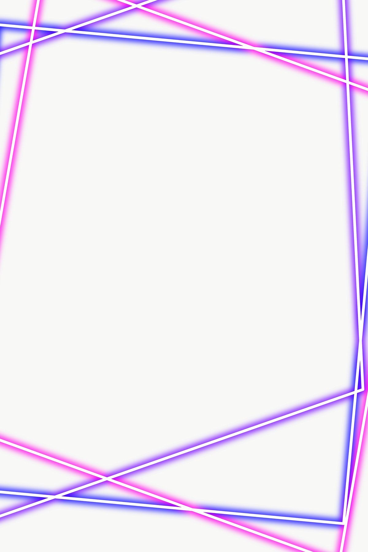 Purple And Pink Rectangle Neon Frame Design Element Free Image By Rawpixel Com Mind Design Element Frame Design Free Illustrations