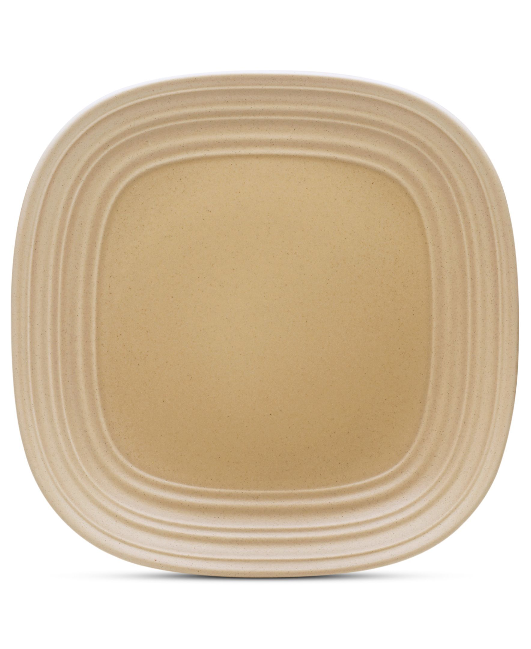 Mikasa Dinnerware, Swirl Square Tan Salad Plate | Products ...