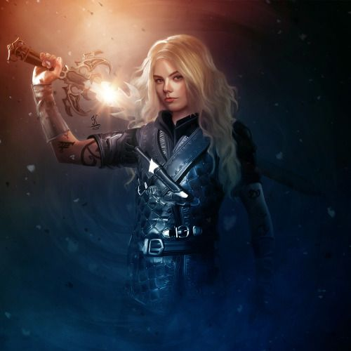 This is amazing! Emma Carstairs fan art. #EmmaCarstairs #TDA #TheDarkArtifices #Shadowhunters