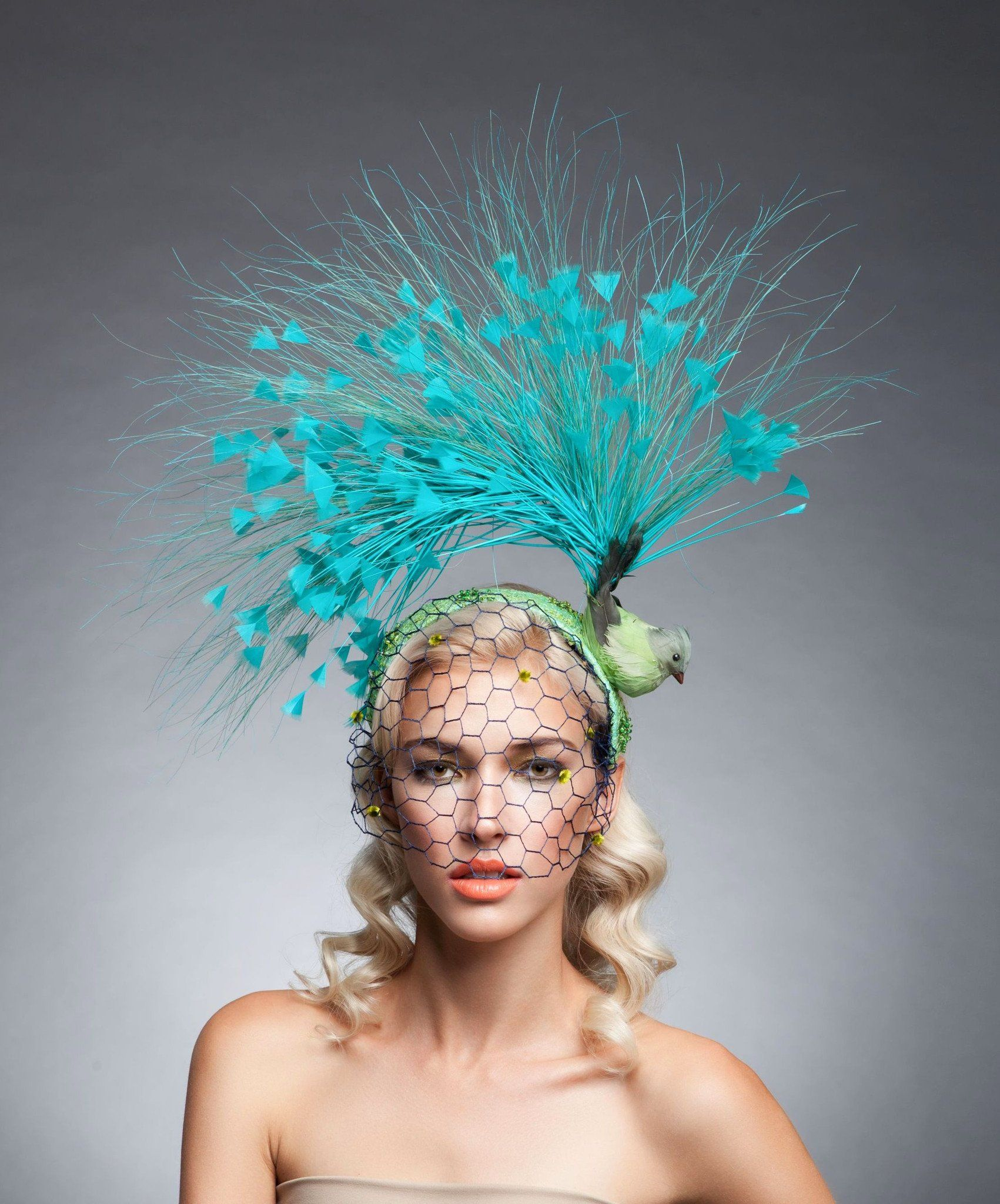 Arturo Rios Bird Fascinator  7ea85373dd7
