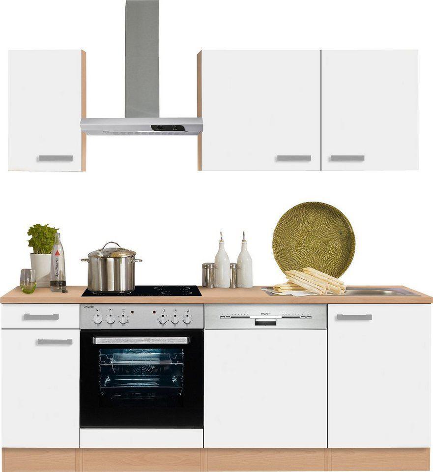 OPTIFIT Küchenzeile »Odense«, ohne E-Geräte, Breite 210 cm ...