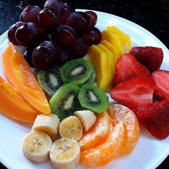 Good morning  #fruit #breakfast #coffee #salads #morning #morningmotivation #health #healthylifestyle #healthfood...