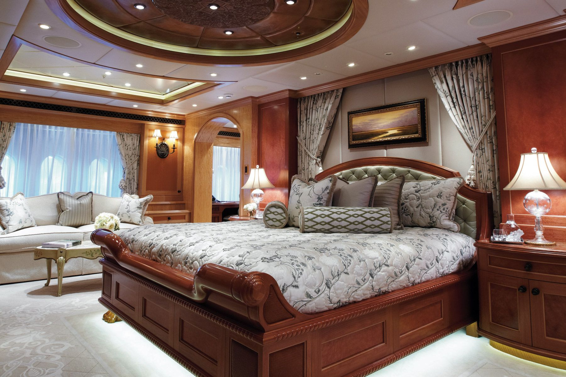 Unbridled At Y Co Luxurious Bedrooms Luxury Yacht Interior Luxury Yachts Yacht bedroom interior design