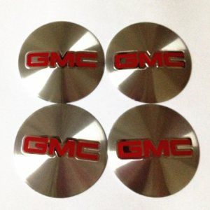 4 STICKERS 4X4 DECALS FOR CENTER CAP WHEELS RIMS TRUCK