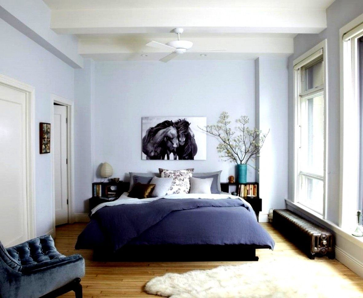 sammlung von schlafzimmer blau braun gestalten