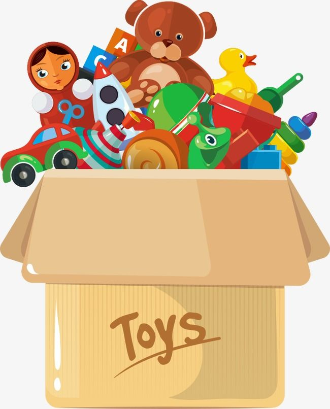 Vector Carton Toys, Toys Clipart, Carton, Toy PNG Transparent Clipart Image  and PSD File for Free Download | Toys, Toy boxes, Clip art