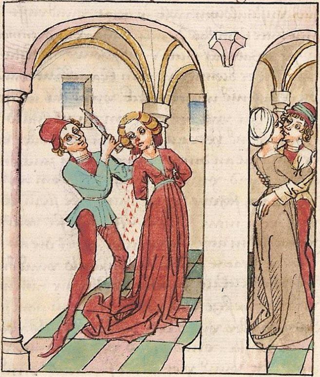 Antonius <von Pforr> Buch der Beispiele der alten Weisen — Oberschwaben, um 1475 Cod. Pal. germ. 466 Folio 41r