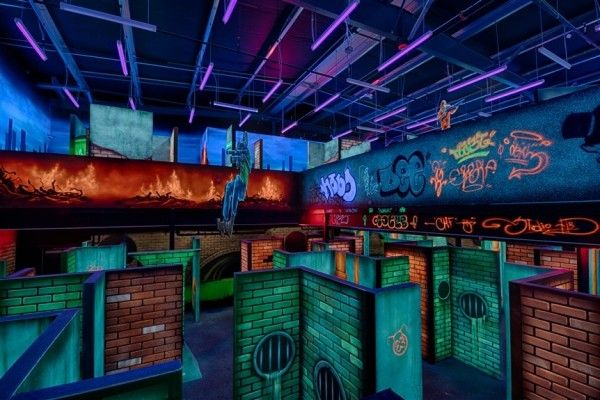 2 Story Black Light Laser Tag At Game World In Ocean City Ocmd Ocean City Ocean City Maryland Ocean