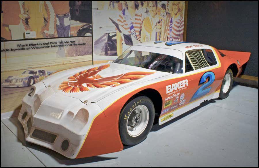 Historic Auto Attractions Legends of Racing Mark Martin