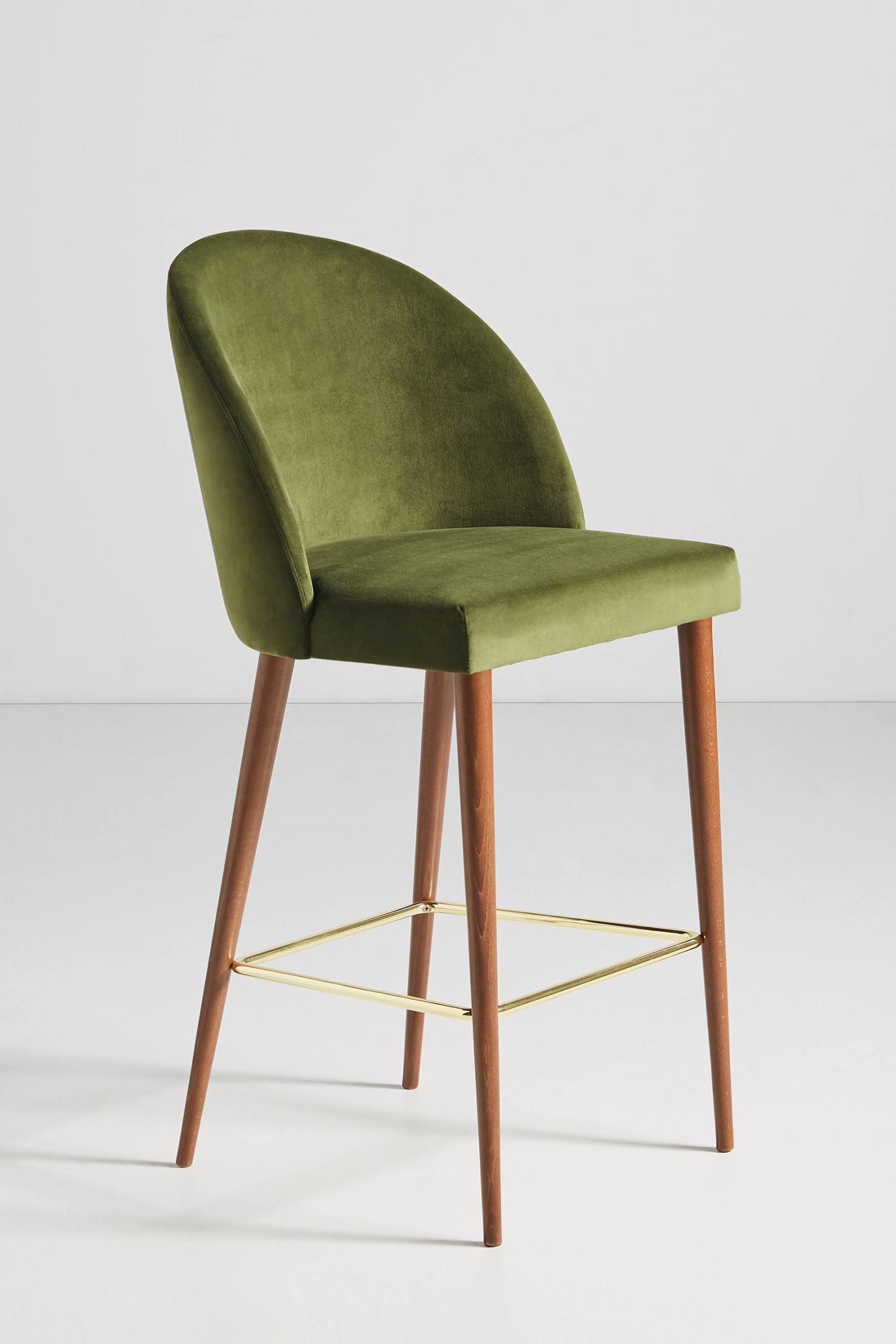 Astounding Velvet Moritz Counter Stool In 2019 Counter Stools Machost Co Dining Chair Design Ideas Machostcouk
