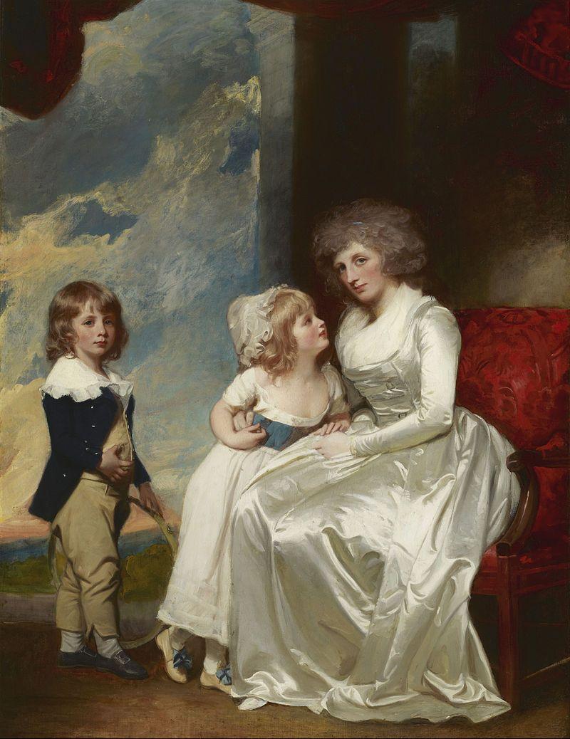 Henrietta, Countess of Warwick, and Her Children - Romney 1787-89.jpg