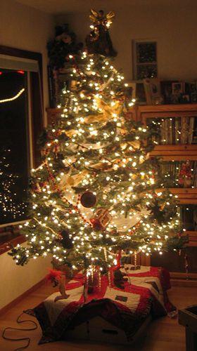 Xmas Tree Xmas Tree Lights Xmas Tree Decor Magazine