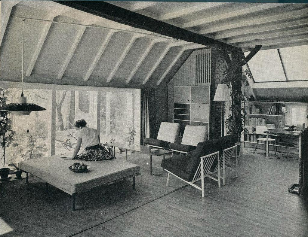 interieur 1960 woonkamer b pg modernism and explore