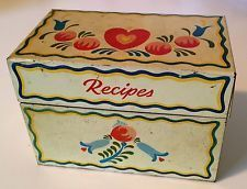 recipe box 1940s - Google Search