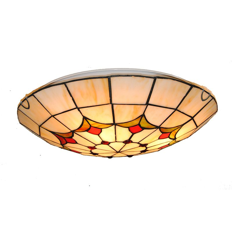 European Style Stained Glass Tiffany Ceiling Lighting Fixture Bedroom Living Room Dining Room Ceiling Lights Light Fixtures Bedroom Ceiling Vintage Chandelier