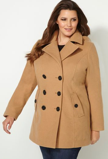 Coats for plus size | Damen mode, Mode, Damenmode