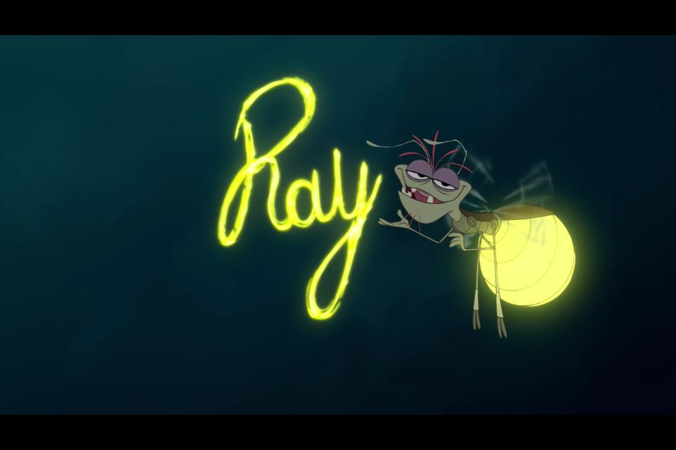 Ray The Firefly Disney S Princess And The Frog The Princess