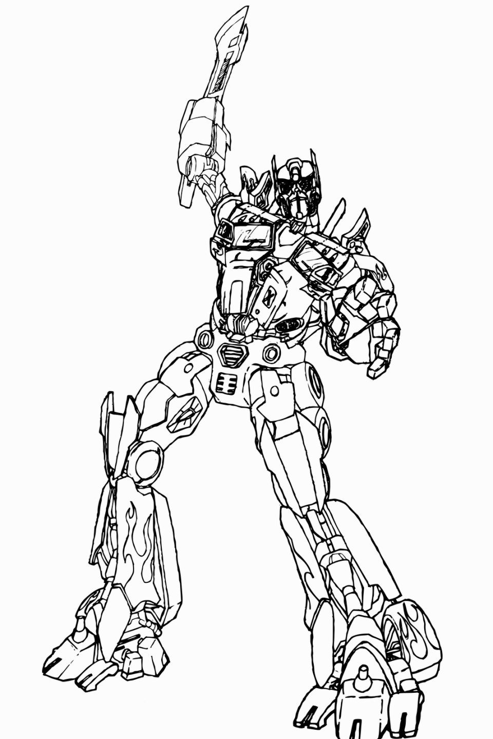 Transformers 4 Coloring Pages Optimus Prime Transformers Coloring Pages Optimus Prime Coloring Page Coloring Pages