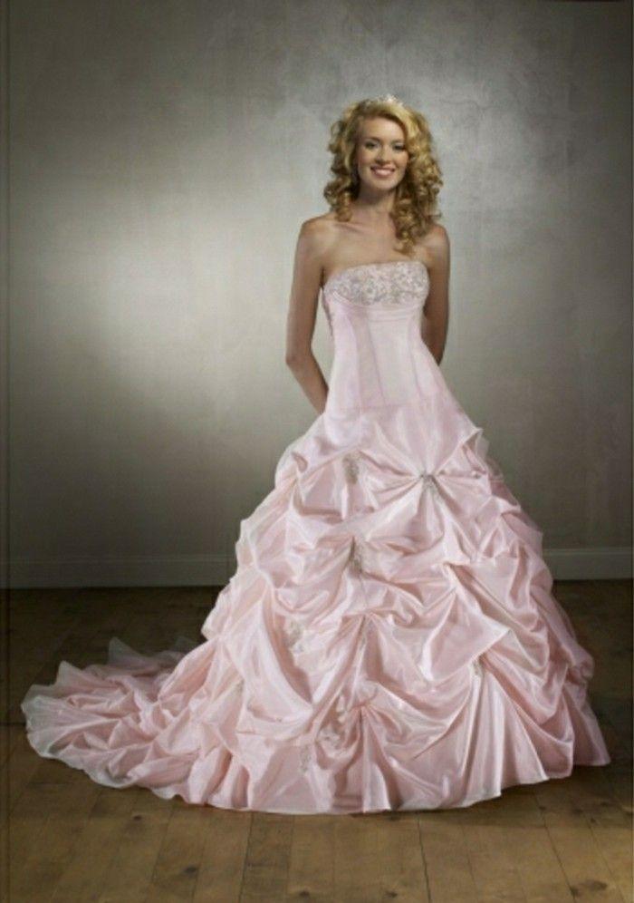 brautkleide rosa lang | Braut, Brautkleid, Hochzeitskleid