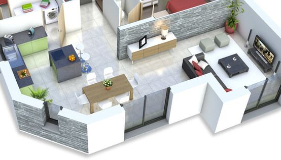 loft3-plan-rdcjpg (3962×2307) Sims Pinterest Sims
