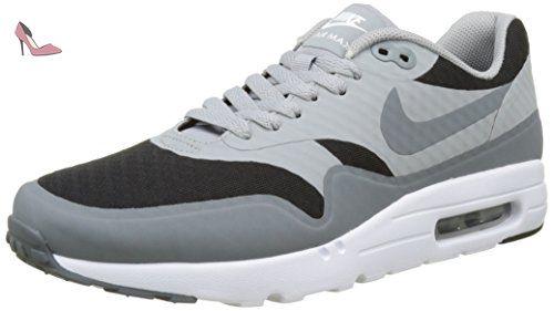 new arrival 28ae4 9d2b8 Nike Air Max 1 Ultra Essential - Baskets Homme - Gris (noir gris loup